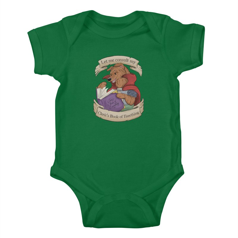 Cleric's Book of Everything Kids Baby Bodysuit by DnDoggos's Artist Shop