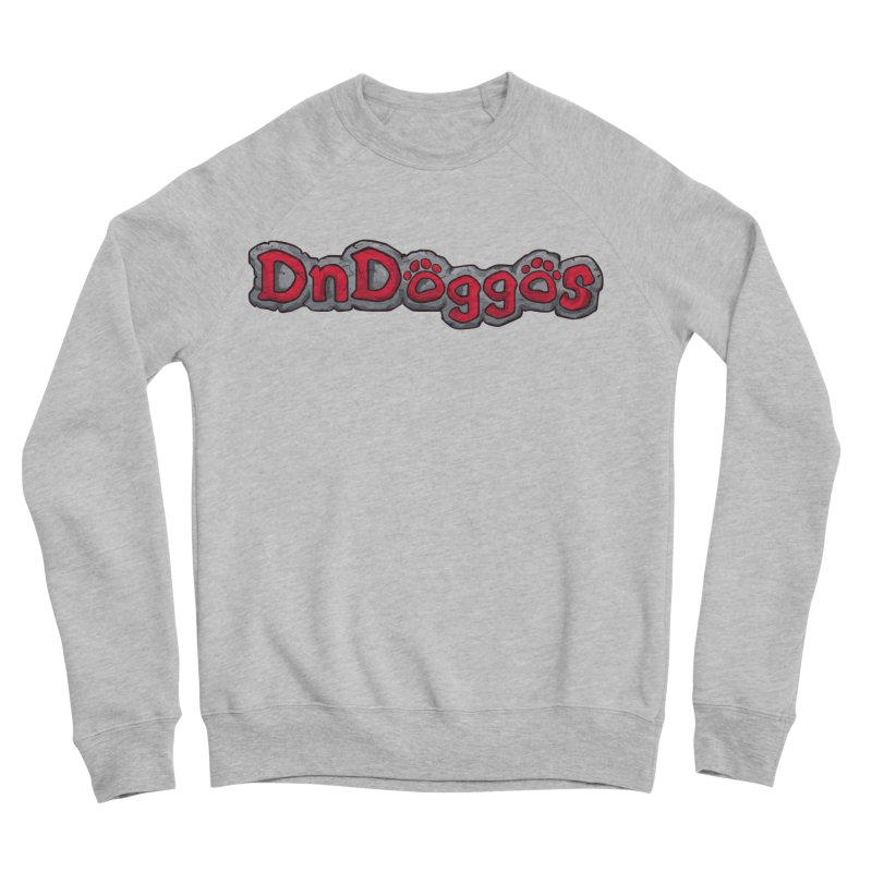 DnDoggos Logo Men's Sponge Fleece Sweatshirt by DnDoggos's Artist Shop