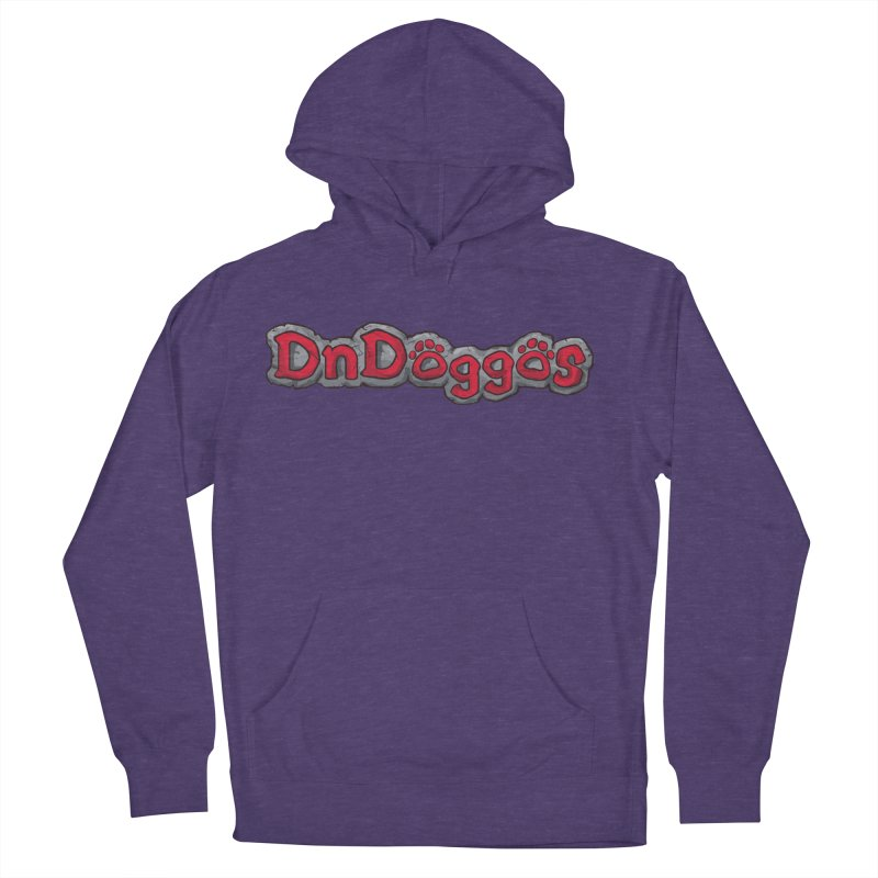 DnDoggos Logo Men's French Terry Pullover Hoody by DnDoggos's Artist Shop