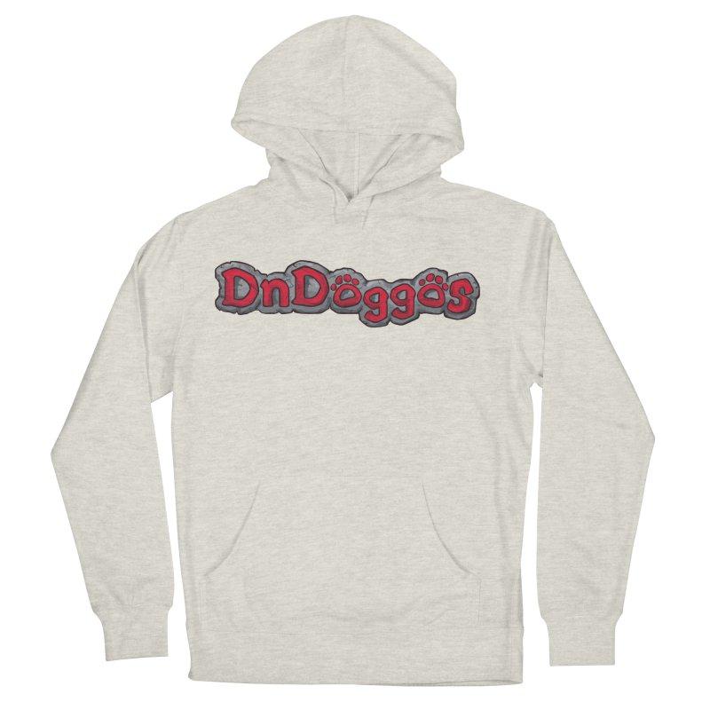 DnDoggos Logo Men's French Terry Pullover Hoody by DnDoggos's Artist Shop