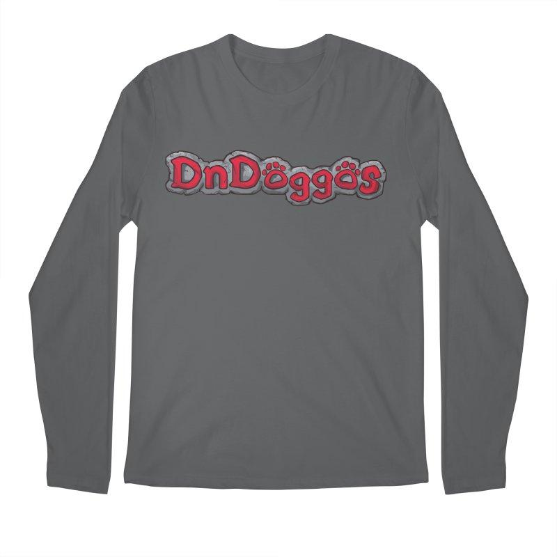 DnDoggos Logo Men's Longsleeve T-Shirt by DnDoggos's Artist Shop