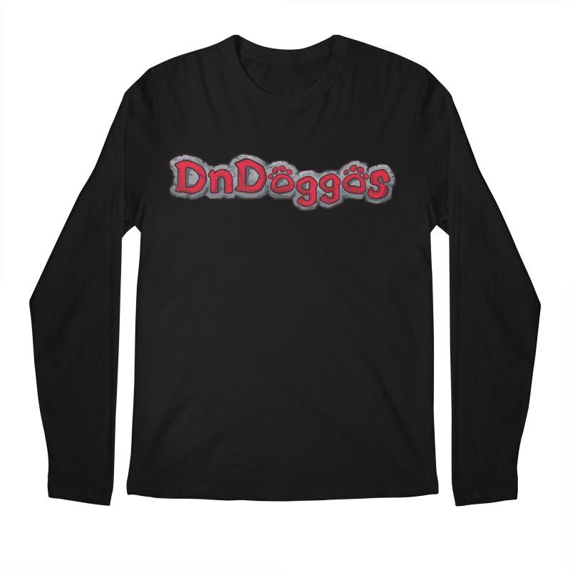 DnDoggos Logo Men's Regular Longsleeve T-Shirt by DnDoggos's Artist Shop