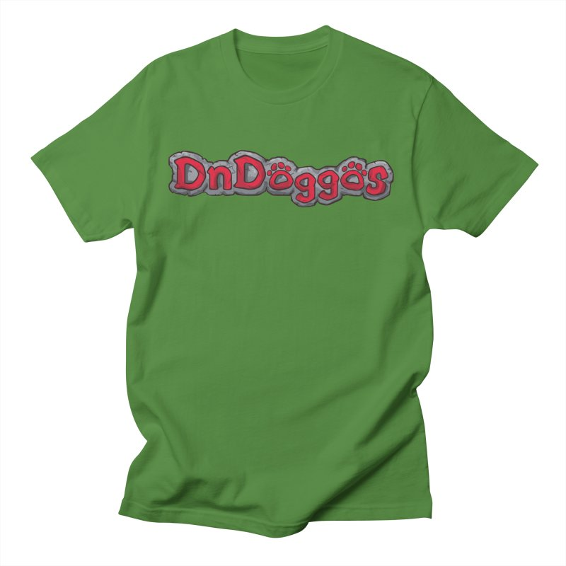 DnDoggos Logo Men's T-Shirt by DnDoggos's Artist Shop