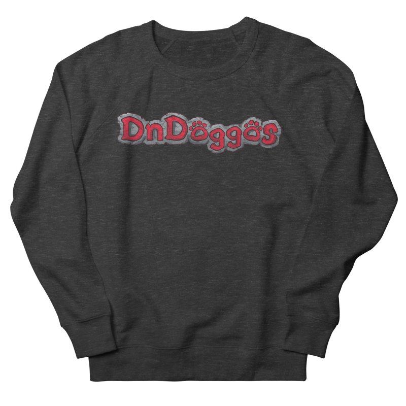DnDoggos Logo Men's French Terry Sweatshirt by DnDoggos's Artist Shop