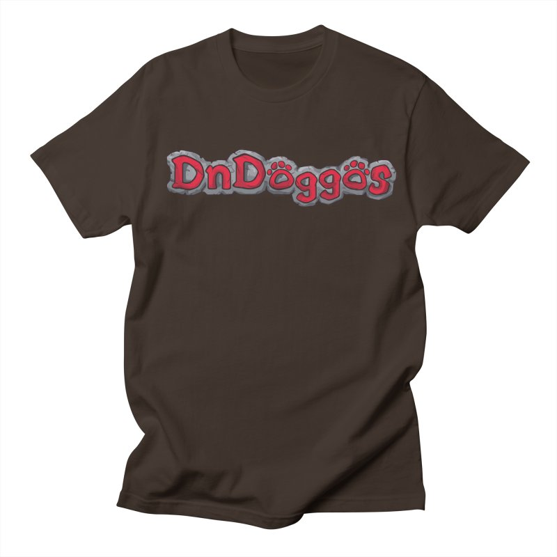 DnDoggos Logo Men's Regular T-Shirt by DnDoggos's Artist Shop
