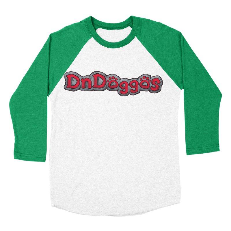 DnDoggos Logo Women's Baseball Triblend Longsleeve T-Shirt by DnDoggos's Artist Shop