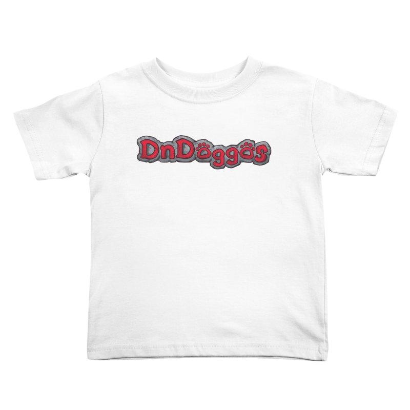 DnDoggos Logo Kids Toddler T-Shirt by DnDoggos's Artist Shop