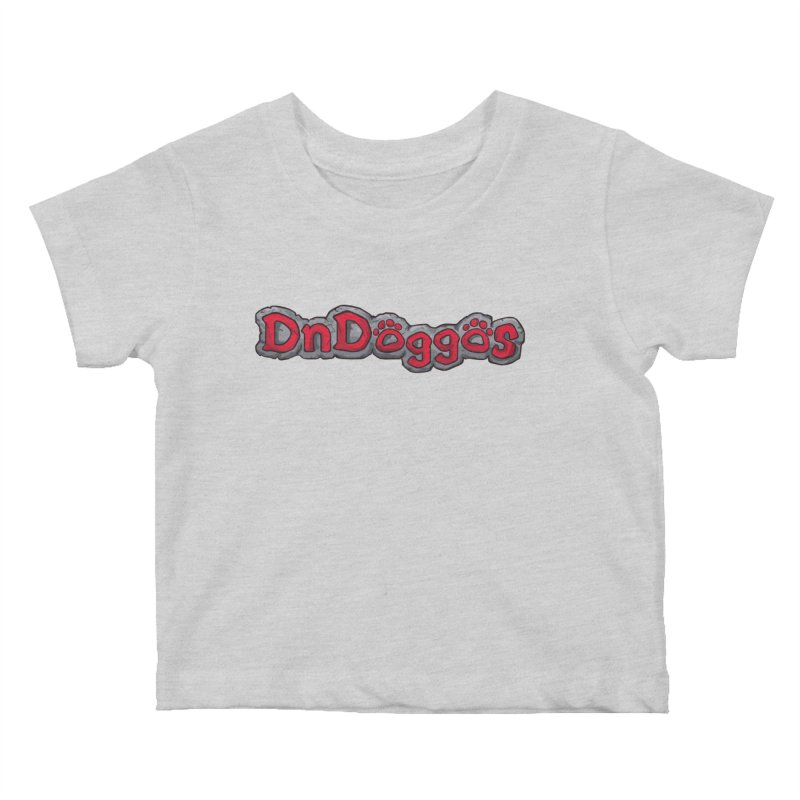 DnDoggos Logo Kids Baby T-Shirt by DnDoggos's Artist Shop