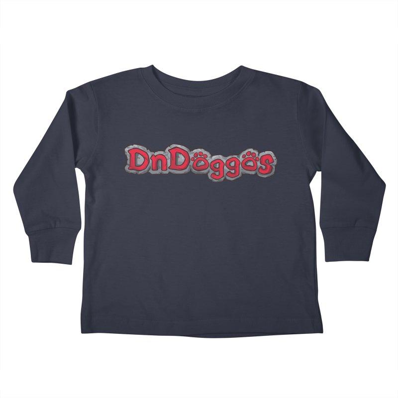 DnDoggos Logo Kids Toddler Longsleeve T-Shirt by DnDoggos's Artist Shop