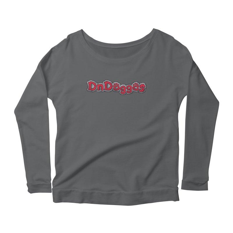 DnDoggos Logo Women's Scoop Neck Longsleeve T-Shirt by DnDoggos's Artist Shop