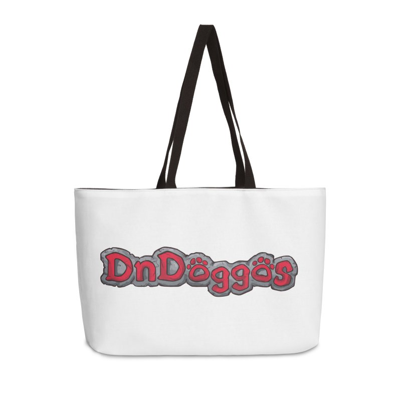 DnDoggos Logo Accessories Weekender Bag Bag by DnDoggos's Artist Shop