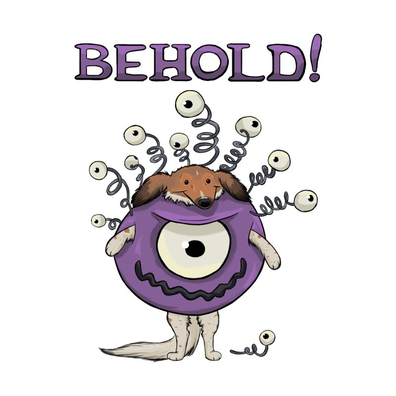 BEHOLD!! Accessories Sticker by DnDoggos's Artist Shop