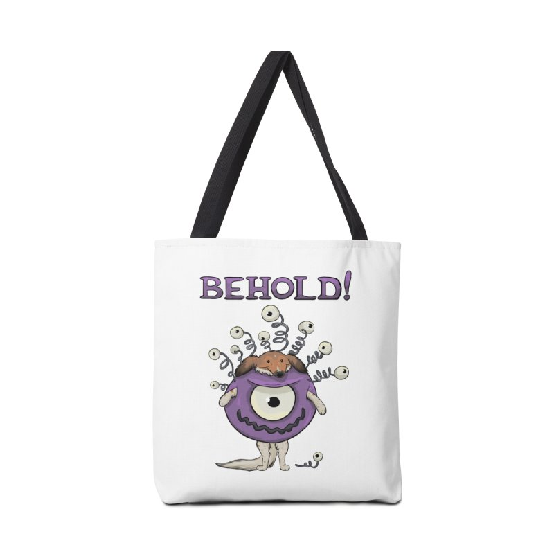 BEHOLD!! Accessories Tote Bag Bag by DnDoggos's Artist Shop