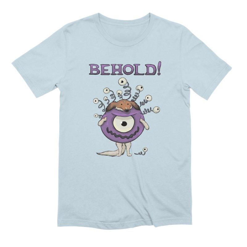 BEHOLD!! Men's Extra Soft T-Shirt by DnDoggos's Artist Shop