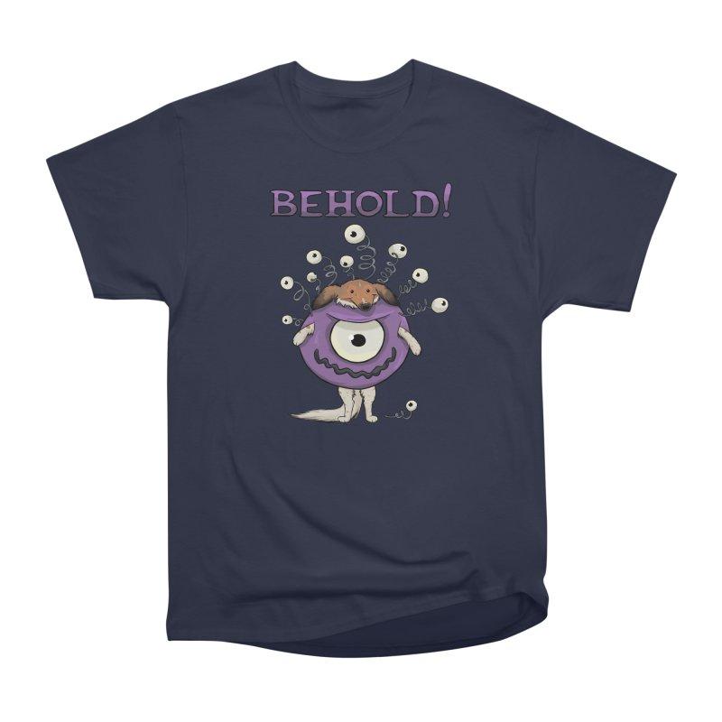 BEHOLD!! Women's Heavyweight Unisex T-Shirt by DnDoggos's Artist Shop