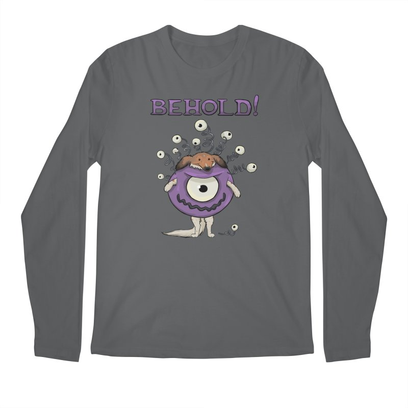 BEHOLD!! Men's Longsleeve T-Shirt by DnDoggos's Artist Shop