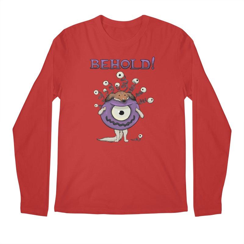 BEHOLD!! Men's Regular Longsleeve T-Shirt by DnDoggos's Artist Shop