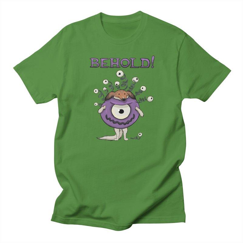 BEHOLD!! Women's Regular Unisex T-Shirt by DnDoggos's Artist Shop