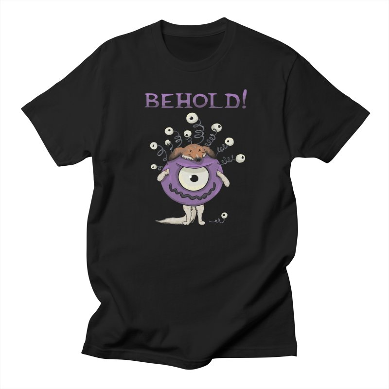 BEHOLD!! Men's Regular T-Shirt by DnDoggos's Artist Shop