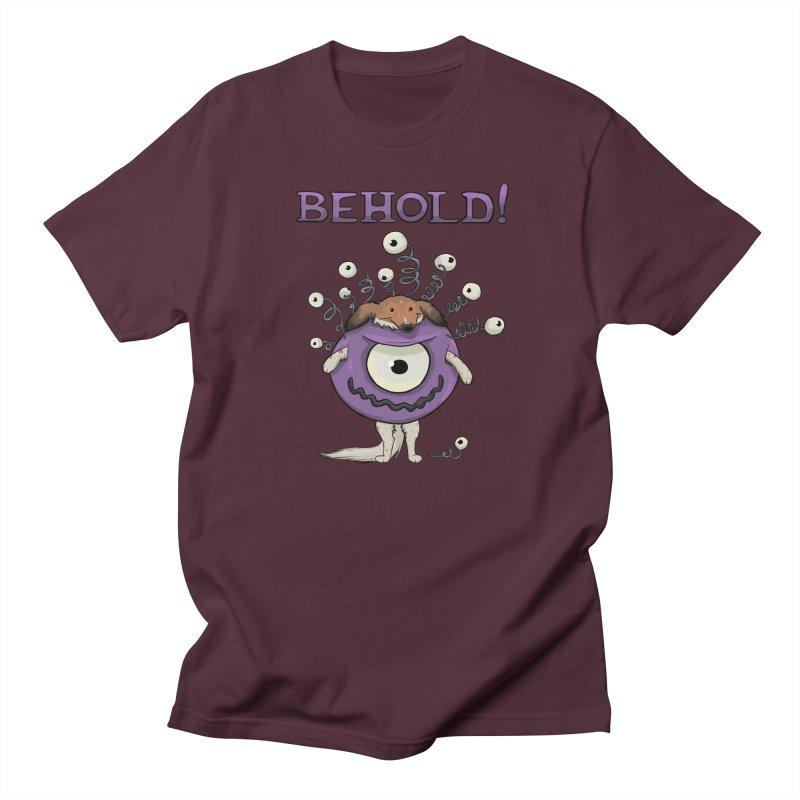 BEHOLD!! Men's Regular T-Shirt by DnDoggos's Artist Shop