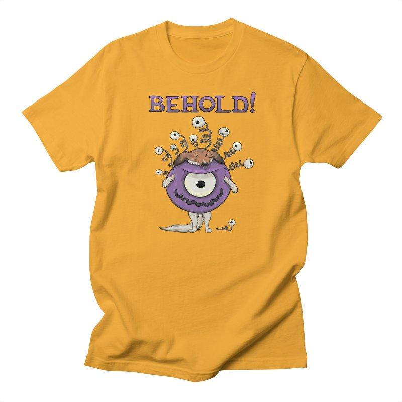 BEHOLD!! Men's T-Shirt by DnDoggos's Artist Shop