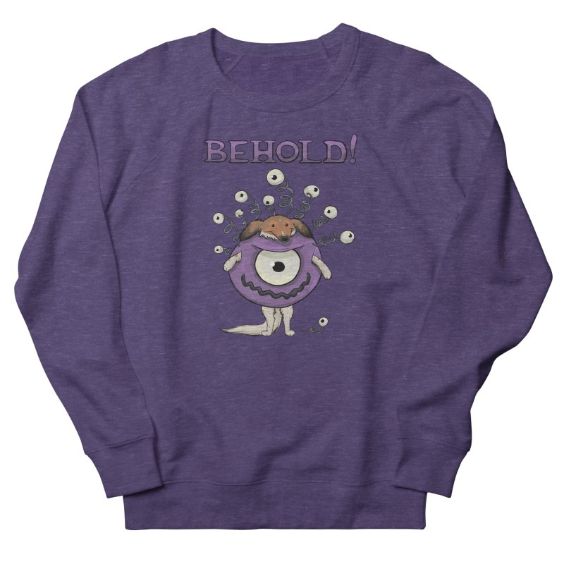 BEHOLD!! Men's French Terry Sweatshirt by DnDoggos's Artist Shop