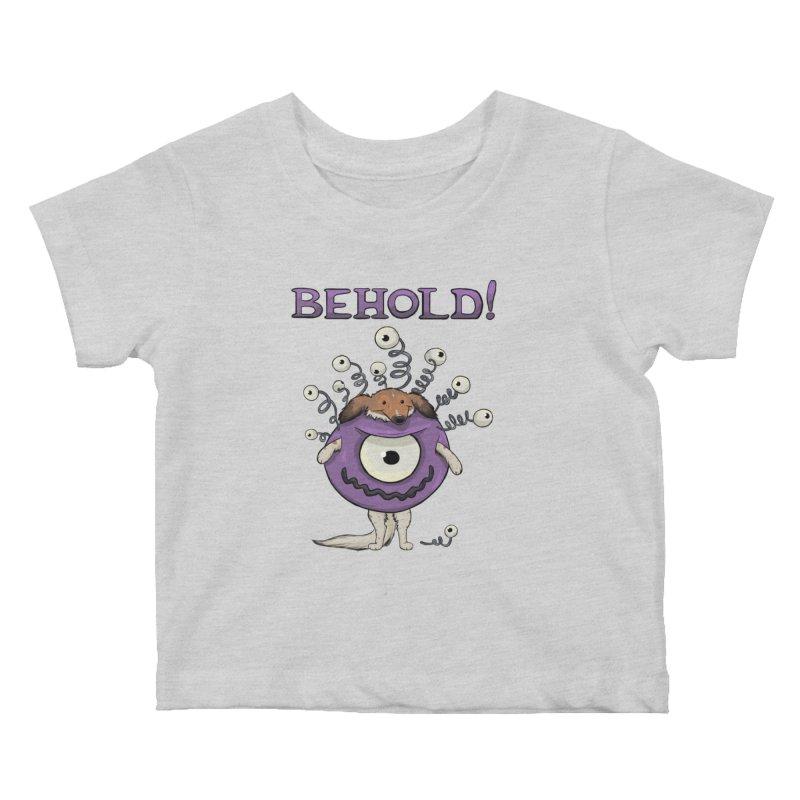 BEHOLD!! Kids Baby T-Shirt by DnDoggos's Artist Shop