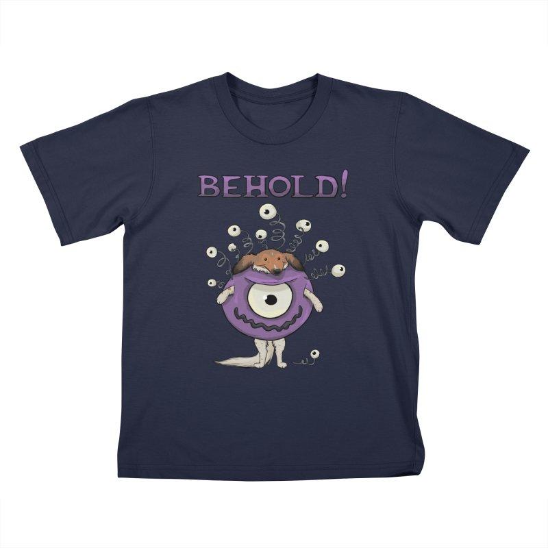 BEHOLD!! Kids T-Shirt by DnDoggos's Artist Shop