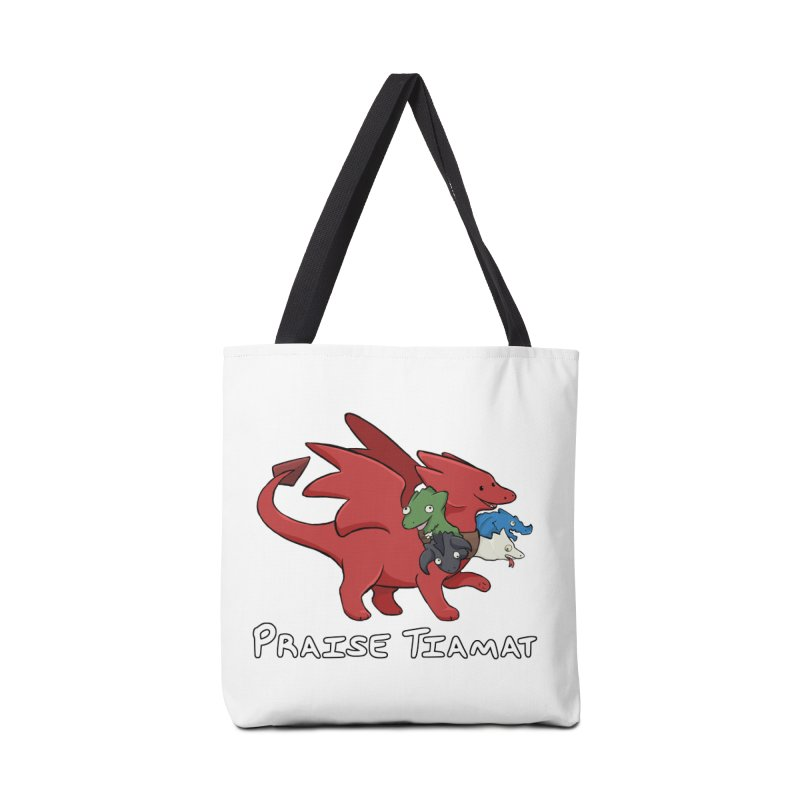 Praise Tiamat Accessories Tote Bag Bag by DnDoggos's Artist Shop