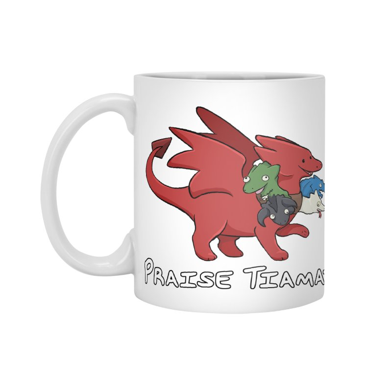 Praise Tiamat Accessories Standard Mug by DnDoggos's Artist Shop