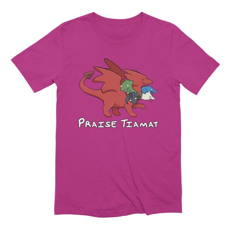 Praise Tiamat Men's T-Shirt by DnDoggos's Artist Shop