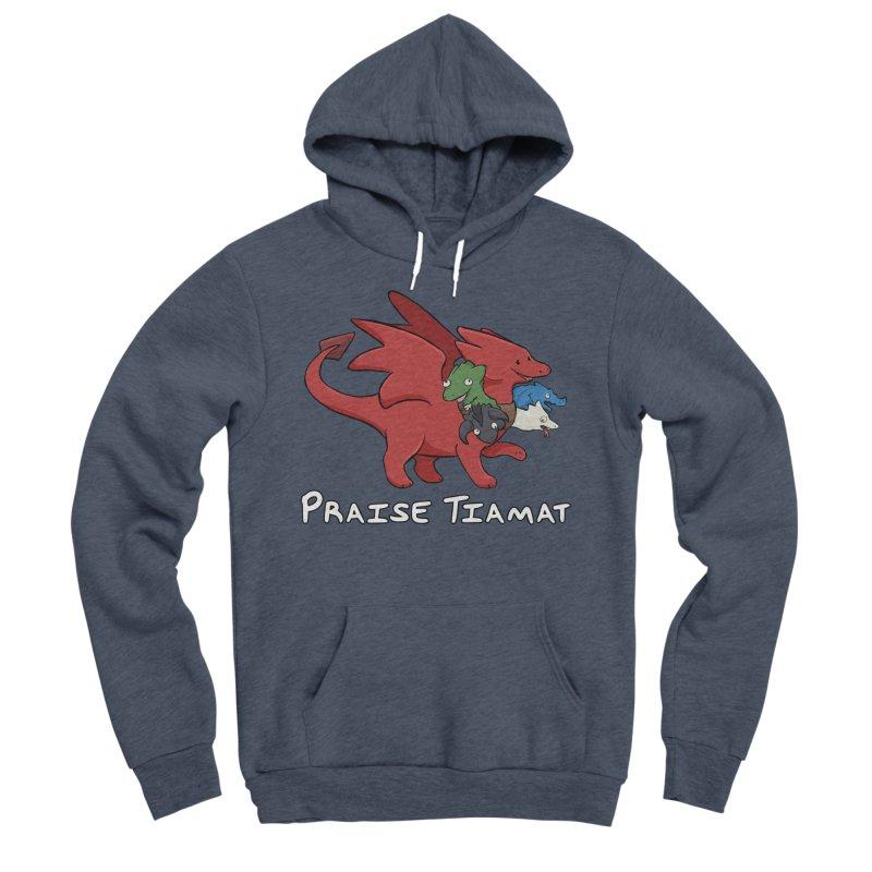 Praise Tiamat Women's Sponge Fleece Pullover Hoody by DnDoggos's Artist Shop