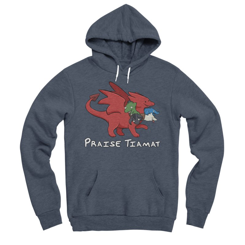 Praise Tiamat Men's Sponge Fleece Pullover Hoody by DnDoggos's Artist Shop