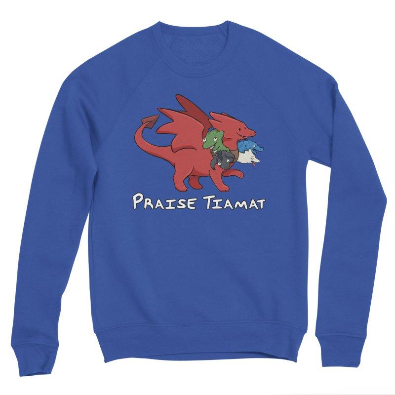 Praise Tiamat Men's Sweatshirt by DnDoggos's Artist Shop