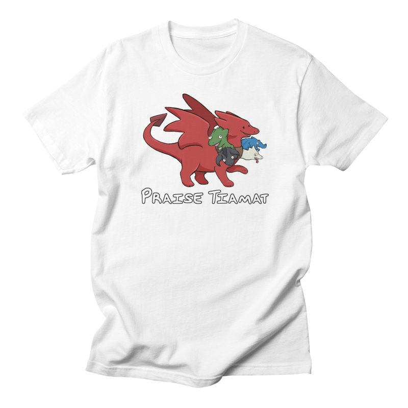 Praise Tiamat Women's T-Shirt by DnDoggos's Artist Shop