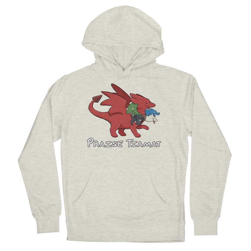 Praise Tiamat Men's French Terry Pullover Hoody by DnDoggos's Artist Shop