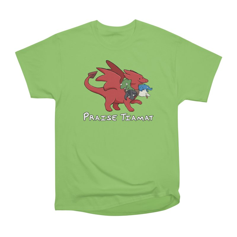 Praise Tiamat Women's T-Shirt by DnDoggos's Artist Shop