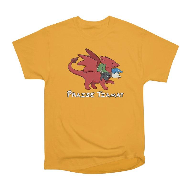 Praise Tiamat Men's Heavyweight T-Shirt by DnDoggos's Artist Shop