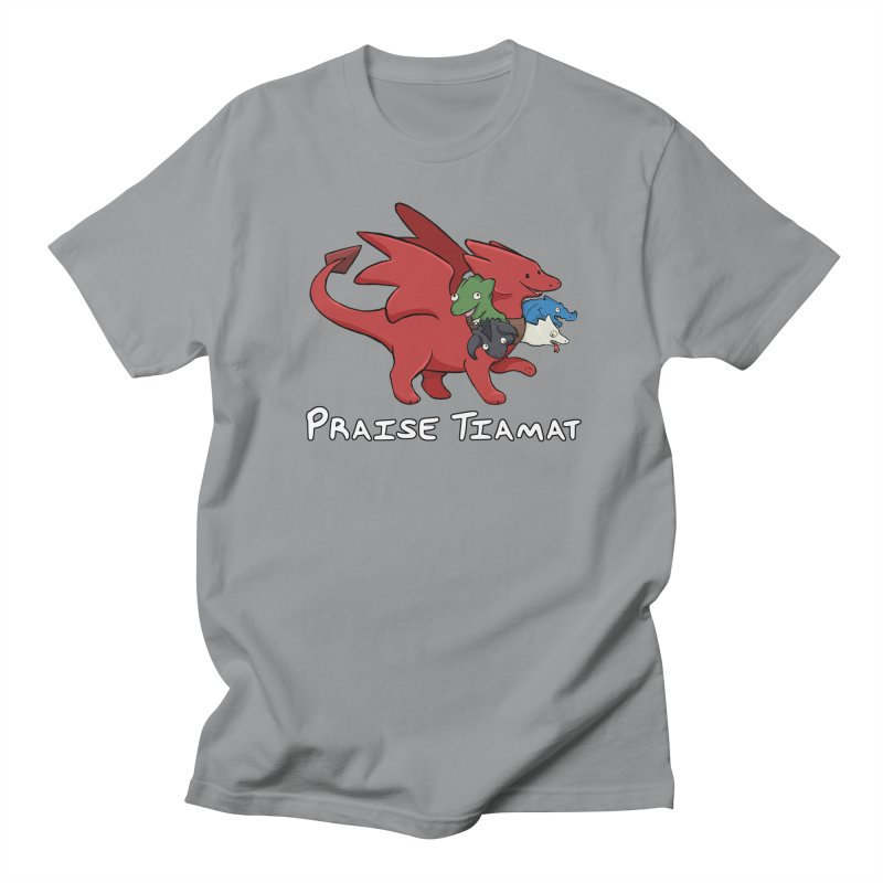 Praise Tiamat Men's Regular T-Shirt by DnDoggos's Artist Shop