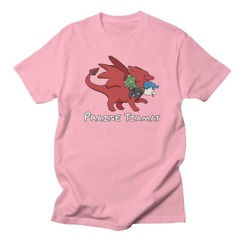 Praise Tiamat Women's Regular Unisex T-Shirt by DnDoggos's Artist Shop