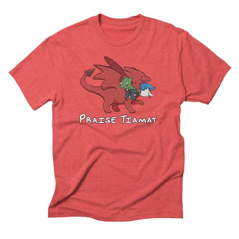 Praise Tiamat Men's Triblend T-Shirt by DnDoggos's Artist Shop