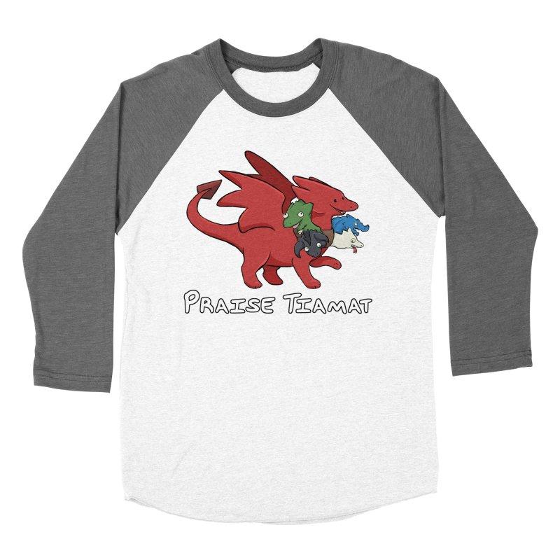 Praise Tiamat Women's Baseball Triblend Longsleeve T-Shirt by DnDoggos's Artist Shop