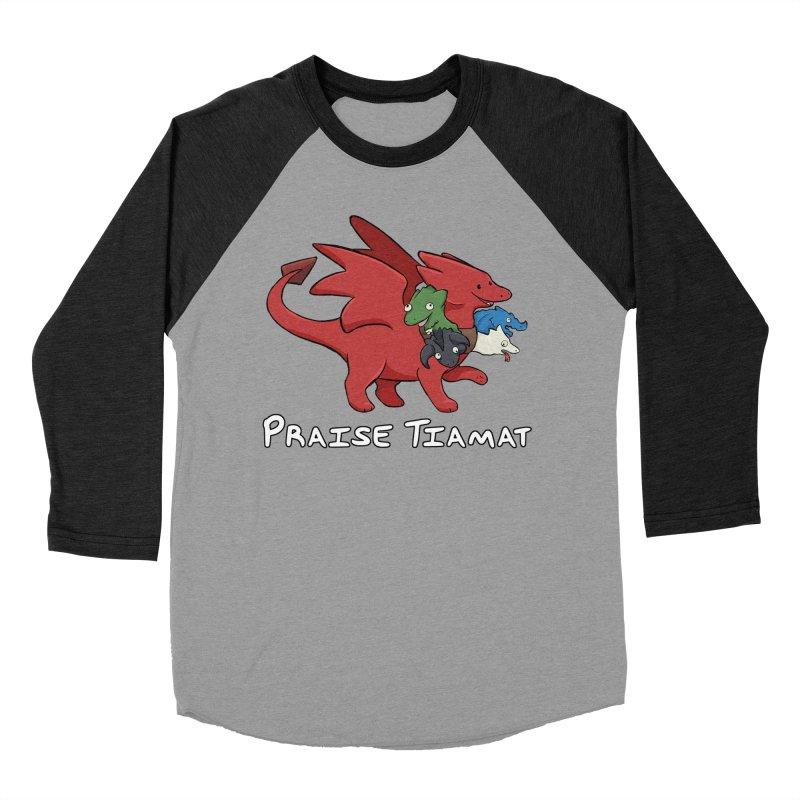 Praise Tiamat Men's Longsleeve T-Shirt by DnDoggos's Artist Shop