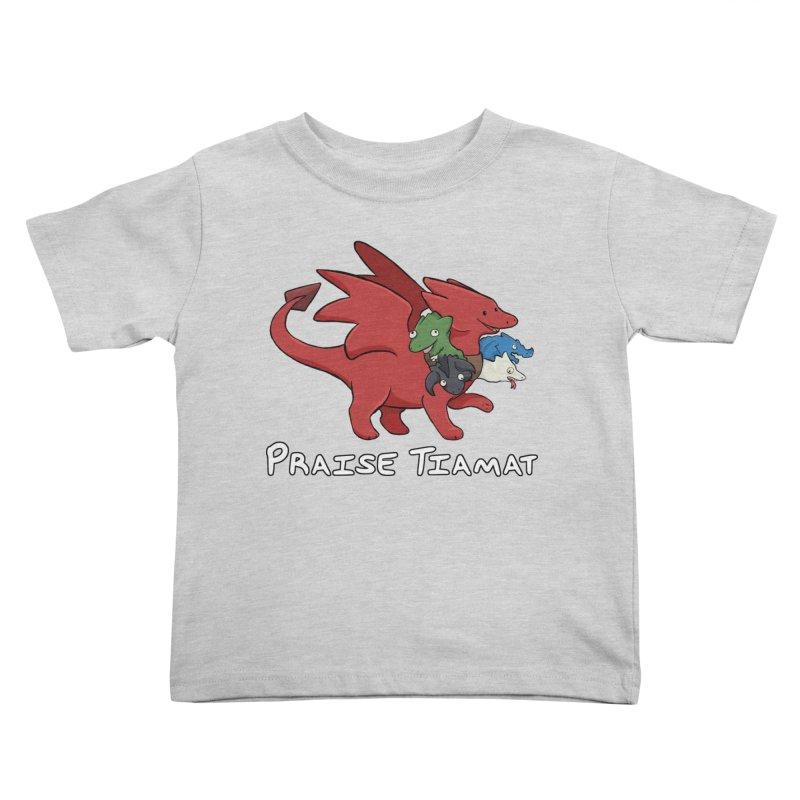 Praise Tiamat Kids Toddler T-Shirt by DnDoggos's Artist Shop