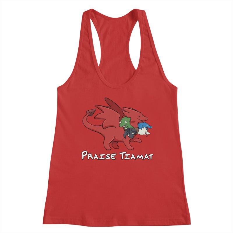 Praise Tiamat Women's Tank by DnDoggos's Artist Shop