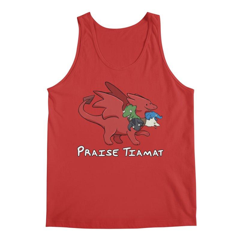Praise Tiamat Men's Tank by DnDoggos's Artist Shop