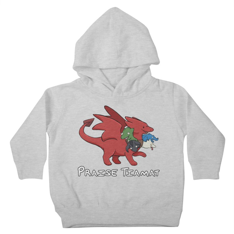 Praise Tiamat Kids Toddler Pullover Hoody by DnDoggos's Artist Shop