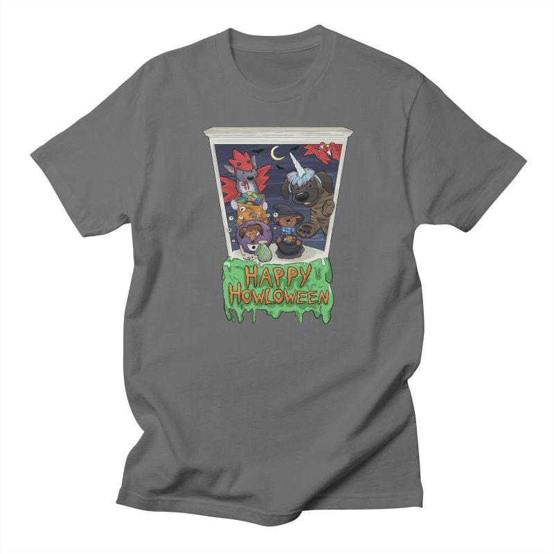 Happy Howloween Men's T-Shirt by DnDoggos's Artist Shop