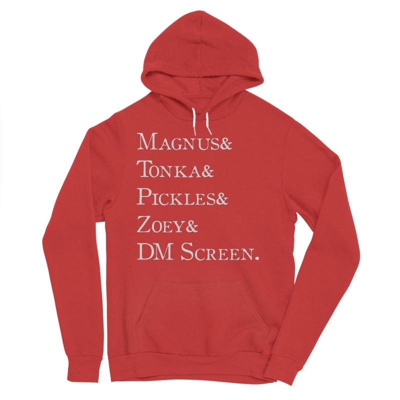 Magnus&Tonka&Pickles&Zoey&DM Screen Women's Sponge Fleece Pullover Hoody by DnDoggos's Artist Shop