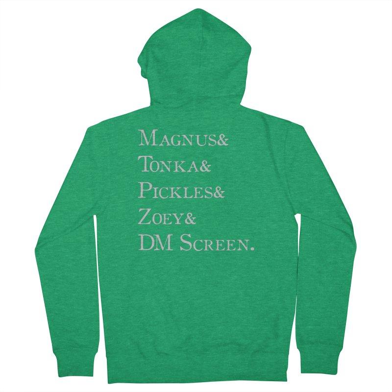 Magnus&Tonka&Pickles&Zoey&DM Screen Women's Zip-Up Hoody by DnDoggos's Artist Shop